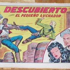 Tebeos: TEBEO EL PEQUEÑO LUCHADOR Nº 204 DESCUBIERTO ORIGINAL 1945 EDITORIAL VALENCIANA RARO MIRA !!. Lote 161403786
