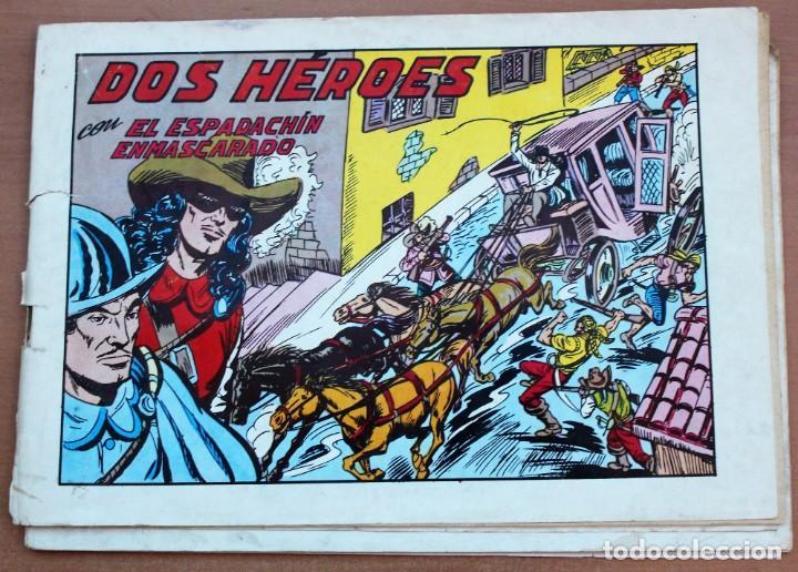 Tebeos: Lote de 3 cómics de El espadachín enmascarado. - Foto 2 - 161490306
