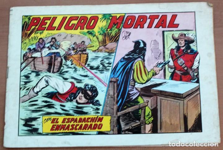 Tebeos: Lote de 3 cómics de El espadachín enmascarado. - Foto 3 - 161490306