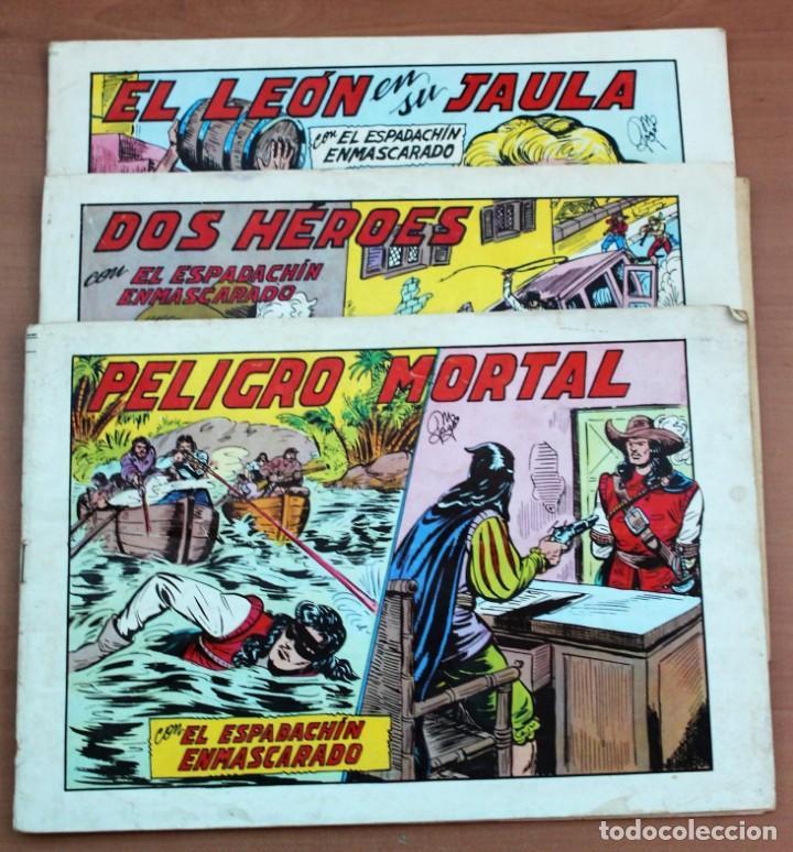 Tebeos: Lote de 3 cómics de El espadachín enmascarado. - Foto 4 - 161490306