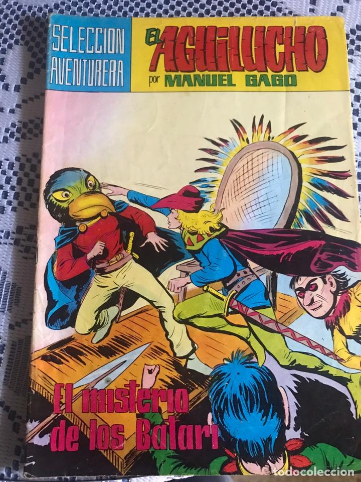 EL AGUILUCHO Nº 12: EL MISTERIO DE LOS BATARI, DE MANUEL GAGO (Tebeos y Comics - Valenciana - Selección Aventurera)