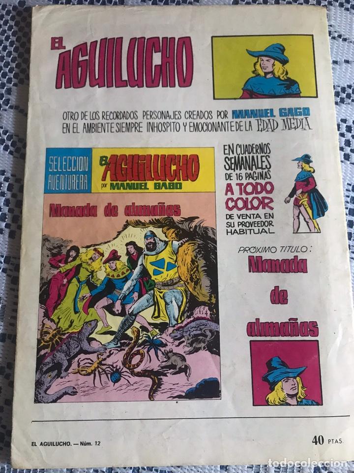 Tebeos: EL AGUILUCHO Nº 12: EL MISTERIO DE LOS BATARI, DE MANUEL GAGO - Foto 2 - 161538392