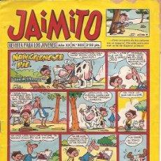 Tebeos: JAIMITO, EDITORIAL VALENCIANA, NÚMERO 805. Lote 161706690