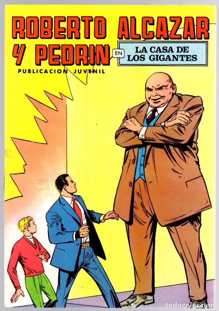 ROBERTO ALCAZAR Y PEDRIN. Nº 48. LA CASA DE LOS GIGANTES. 2ª EPOCA. VALENCIANA, 1976 (Tebeos y Comics - Valenciana - Roberto Alcázar y Pedrín)