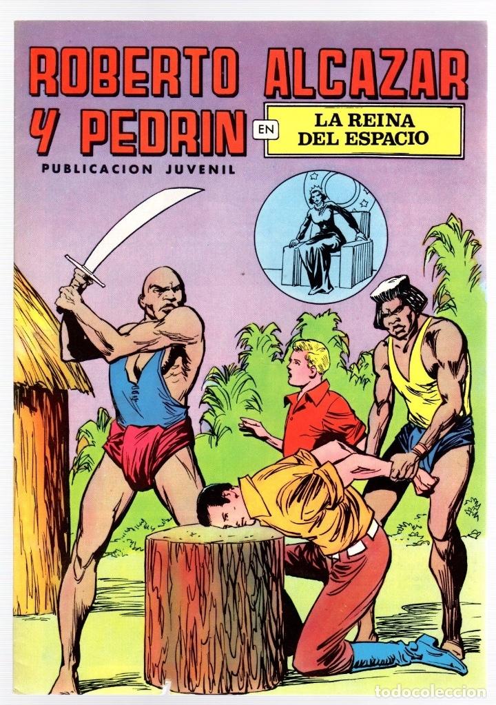 ROBERTO ALCAZAR Y PEDRIN. Nº 51. LA REINA DEL ESPACIO. 2ª EPOCA. VALENCIANA, 1976 (Tebeos y Comics - Valenciana - Roberto Alcázar y Pedrín)