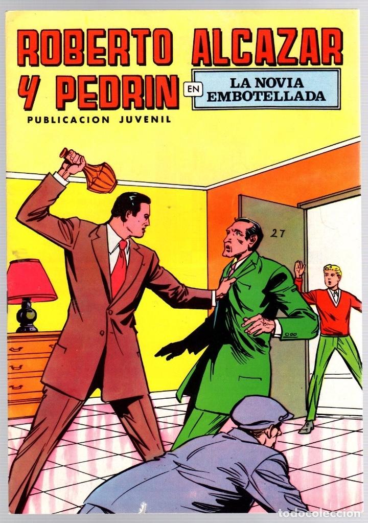 ROBERTO ALCAZAR Y PEDRIN. Nº 52. LA NOVIA EMBOTELLADA. 2ª EPOCA. VALENCIANA, 1976 (Tebeos y Comics - Valenciana - Roberto Alcázar y Pedrín)