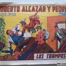 Tebeos: COMIC ROBERTO ALCAZAR Y PEDRIN LOS TRAMPOSOS. Lote 162197028
