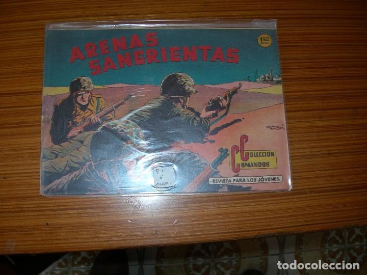 COLECCION COMANDOS Nº 44 EDITA VALENCIANA (Tebeos y Comics - Valenciana - Otros)