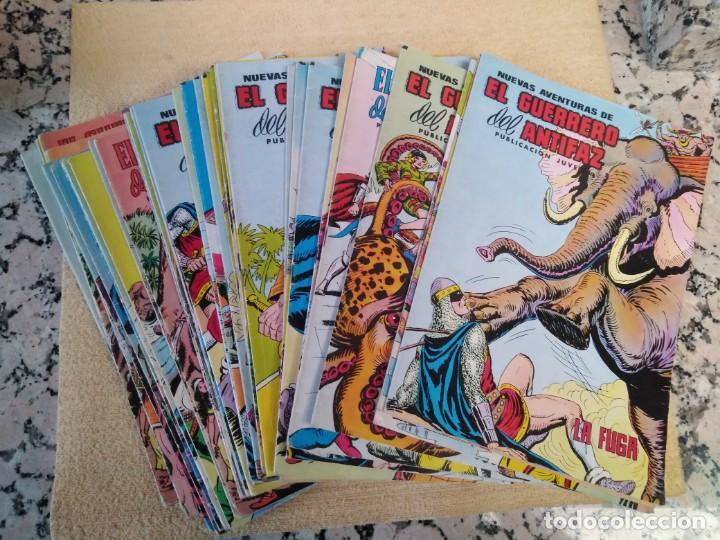 LOTE 32 TEBEOS EL GUERRERO DEL ANTIFAZ (Tebeos y Comics - Valenciana - Guerrero del Antifaz)