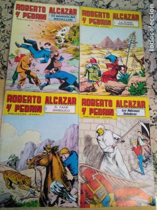 Tebeos: Lote Tebeos Roberto Alcázar y Pedrin - Foto 5 - 163091746