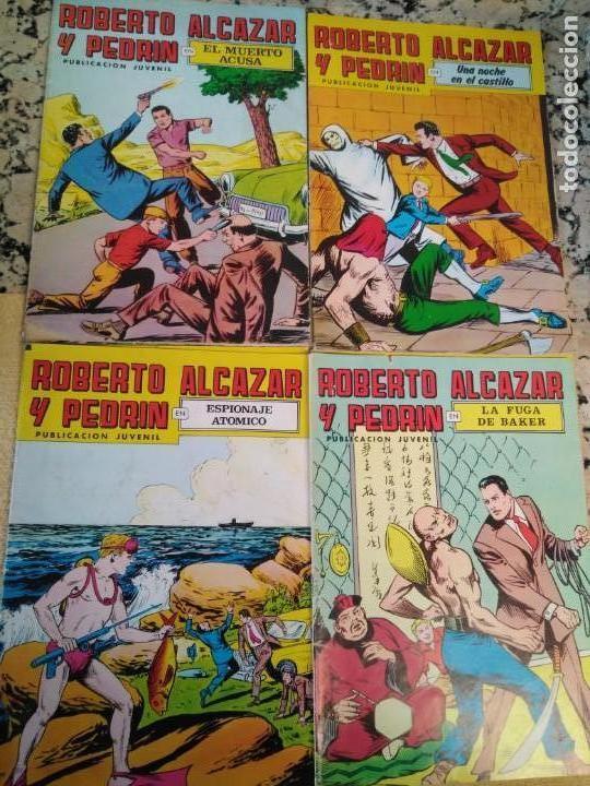 Tebeos: Lote Tebeos Roberto Alcázar y Pedrin - Foto 7 - 163091746