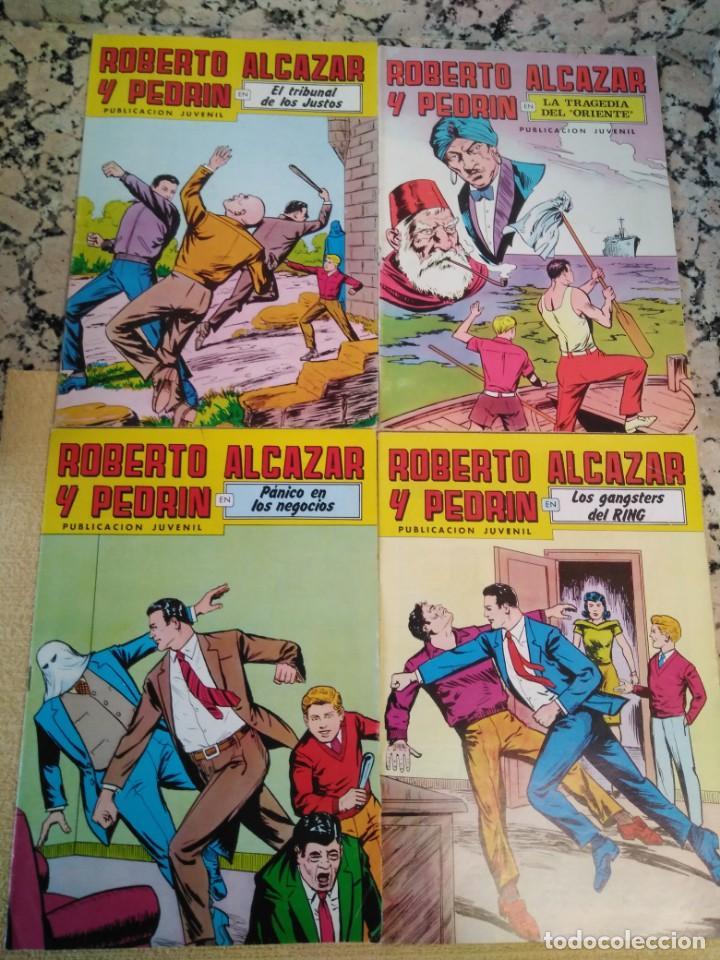 Tebeos: Lote Tebeos Roberto Alcázar y Pedrin - Foto 8 - 163091746