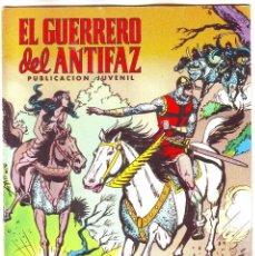 Tebeos: EL GUERRERO DEL ANTIFAZ LOS JINETES NEGROS Nº 18. Lote 163489050