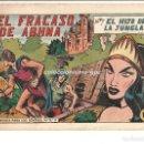 Tebeos: EL HIJO DE LA JUNGLA Nº 47 TEBEO ORIGINAL 1956 EL FRACASO DE ABHNA EDITORIAL VALENCIANA GAGO SERCHIO. Lote 164486894