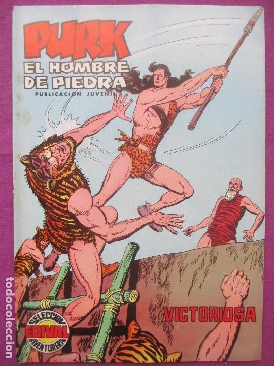 TEBEO PURK EL HOMBRE DE PIEDRA, Nº 84, VICTORIOSA, VALENCIANA, (Tebeos y Comics - Valenciana - Purk, el Hombre de Piedra)