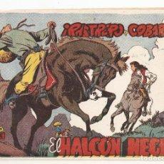 Tebeos: EL HALCON NEGRO Nº 2 TEBEO ORIGINAL 1959 RASTRERO Y COBARDE EDIT. MARCO BUEN ESTADO RARO LEER MIRA !. Lote 164616162