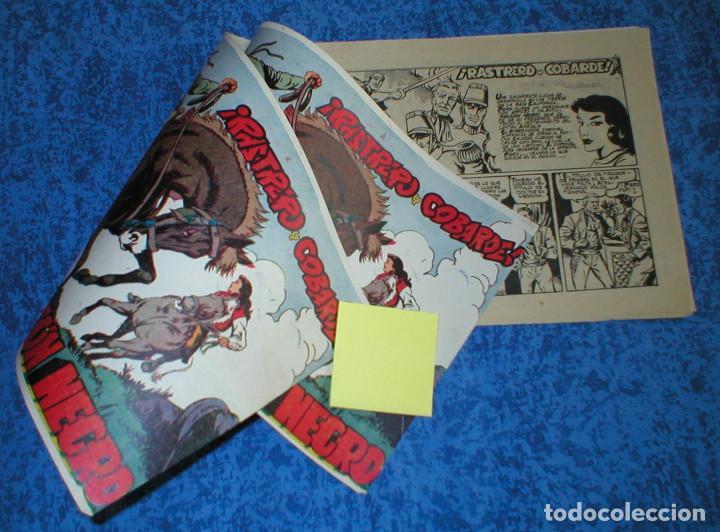 Tebeos: EL HALCON NEGRO nº 2 TEBEO ORIGINAL 1959 RASTRERO Y COBARDE Edit. MARCO Buen estado Raro Leer Mira ! - Foto 4 - 164616162