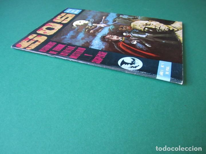 Tebeos: SOS (1975, EDIVAL) 1 · 22-II-1975 · S O S. HISTORIAS DE TERROR, INTRIGA, MISTERIO Y SUSPENSE - Foto 3 - 164624810