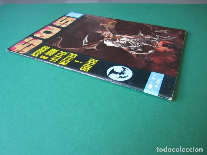 Tebeos: SOS (1975, EDIVAL) 2 · 8-III-1975 · S O S. HISTORIAS DE TERROR, INTRIGA, MISTERIO Y SUSPENSE - Foto 3 - 164625026