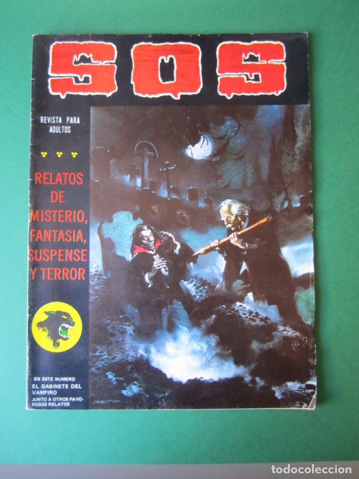 SOS (1980, VALENCIANA) 15 · 2-V-1981 · S O S (Tebeos y Comics - Valenciana - S.O.S)