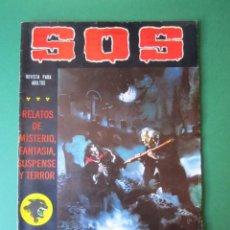 Tebeos: SOS (1980, VALENCIANA) 15 · 2-V-1981 · S O S. Lote 164625394