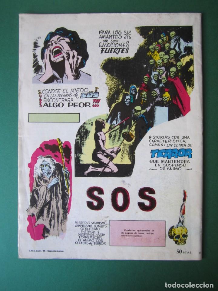 Tebeos: SOS (1980, VALENCIANA) 15 · 2-V-1981 · S O S - Foto 2 - 164625394