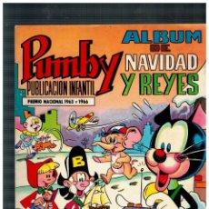 Tebeos: PUMBY ÁLBUM NAVIDAD Y REYES 1968. ORIGINAL. VALENCIANA.BUENO.. Lote 164635442