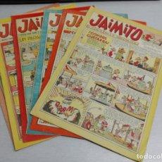 Tebeos: JAIMITO / LOTE DE 6 NÚMEROS: 210, 270, 282, 365, 366, 377 (DIFÍCILES) / EDITORIAL VALENCIANA. Lote 164667358
