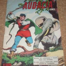 Tebeos: AUDACIA Nº 19, MUY DIFICIL, VALENCIANA 1962 ORIGINAL. Lote 164755722