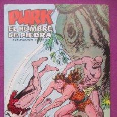Tebeos: TEBEO PURK EL HOMBRE DE PIEDRA, Nº 74, OTRA VEZ LA HECHICERA, VALENCIANA,. Lote 165063886