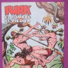 BDs: TEBEO PURK EL HOMBRE DE PIEDRA, Nº 55, DE LA VIDA A LA MUERTE, VALENCIANA,. Lote 165065886