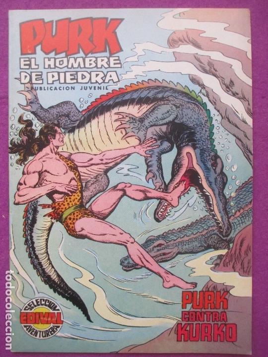TEBEO PURK EL HOMBRE DE PIEDRA, Nº 64, PURK CONTRA KURKO, VALENCIANA, (Tebeos y Comics - Valenciana - Purk, el Hombre de Piedra)