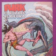 Tebeos: TEBEO PURK EL HOMBRE DE PIEDRA, Nº 64, PURK CONTRA KURKO, VALENCIANA,. Lote 165230066