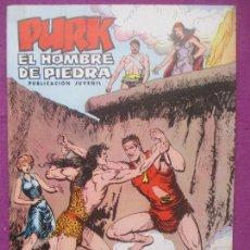 BDs: TEBEO PURK EL HOMBRE DE PIEDRA, Nº 75, EL REY TORNON, VALENCIANA,. Lote 165232054