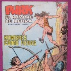 BDs: TEBEO PURK EL HOMBRE DE PIEDRA, Nº 76, HOMBRES COMO FIERAS, VALENCIANA,. Lote 165232274