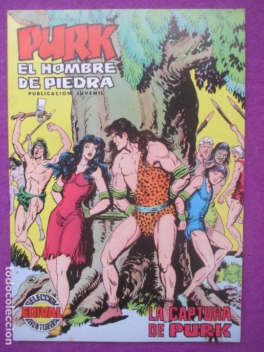 TEBEO PURK EL HOMBRE DE PIEDRA, Nº 81, LA CAPTURA DE PURK, VALENCIANA, (Tebeos y Comics - Valenciana - Purk, el Hombre de Piedra)
