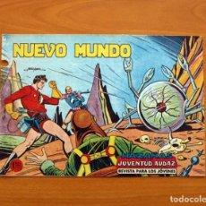 Tebeos: HAZAÑAS DE LA JUVENTUD AUDAZ - Nº 19, NUEVO MUNDO - EDITORIAL VALENCIANA 1959. Lote 165349686