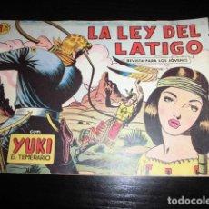 BDs: YUKI EL TEMERARIO - Nº 3 - ORIGINAL - EDITORIAL VALENCIANA.. Lote 165398346