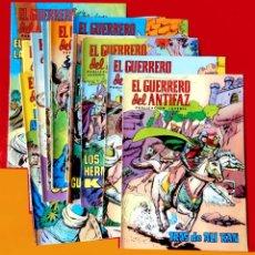 Tebeos: EL GUERRERO DEL ANTIFAZ, 12 PORTADAS (SIN CÓMIC) Nº 13 AL 24, - EDIC. COLOREADA 1972, DE M. GAGO. Lote 165483782