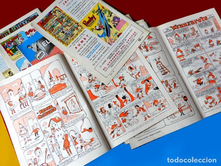 Tebeos: EL GUERRERO DEL ANTIFAZ, 12 PORTADAS (SIN CÓMIC) Nº 13 AL 24, - EDIC. COLOREADA 1972, DE M. GAGO - Foto 6 - 165483782