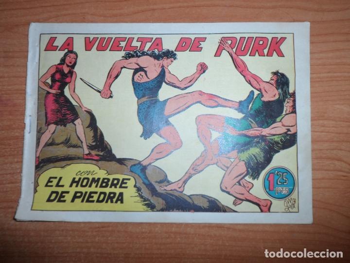 PURK EL HOMBRE DE PIEDRA Nº 25 EDITORIAL VALENCIANA ORIGINAL (Tebeos y Comics - Valenciana - Purk, el Hombre de Piedra)