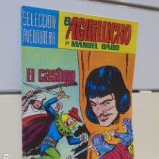 Tebeos: SELECCION AVENTURERA EL AGUILUCHO Nº 37 MANUEL GAGO - VALENCIANA -. Lote 165775310