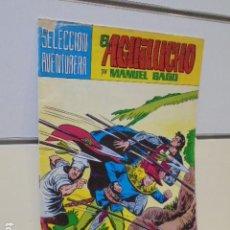 Tebeos: SELECCION AVENTURERA EL AGUILUCHO Nº 35 MANUEL GAGO - VALENCIANA -. Lote 165775882