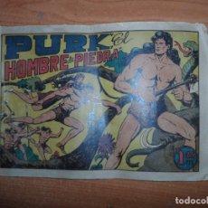 Tebeos: PURK EL HOMBRE DE PIEDRA Nº 1 EDITORIAL VALENCIANA ORIGINAL . Lote 165780834