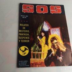 Livros de Banda Desenhada: SOS - 2ª SERIE - Nº 6 - HISTORIA DE TERROR, INTRIGA, MISTERIO Y SUSPENSE. Lote 165837578