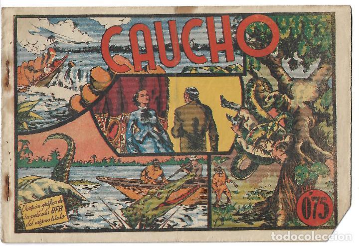 CAUCHO - ORIGINAL (Tebeos y Comics - Valenciana - Selección Aventurera)