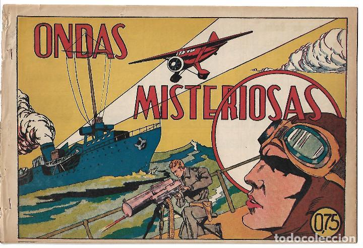 ONDAS MISTERIOSAS - ORIGINAL (Tebeos y Comics - Valenciana - Selección Aventurera)