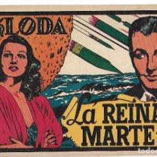 Tebeos: KLODA LA REINA DE MARTE - ORIGINAL. Lote 166017434