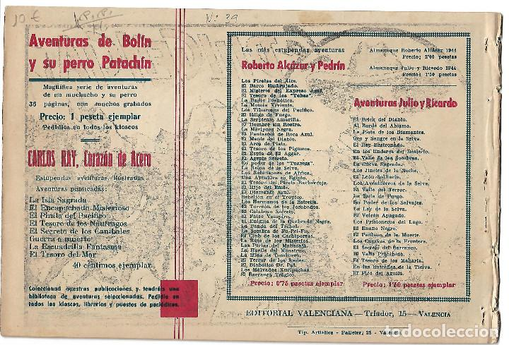 Tebeos: KLODA LA REINA DE MARTE - ORIGINAL - Foto 2 - 166017434