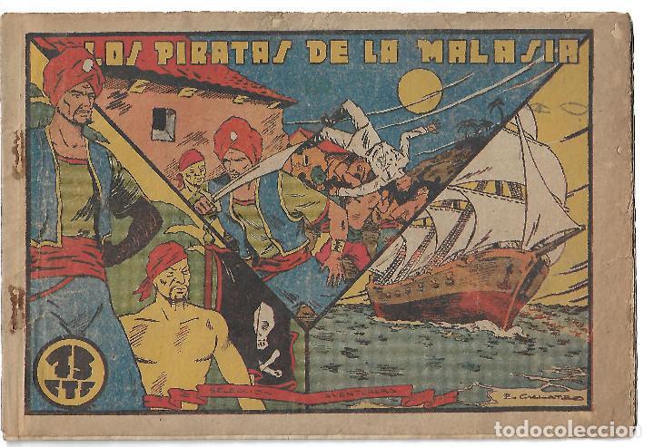 LOS PIRATAS DE LA MALASIA - ORIGINAL (Tebeos y Comics - Valenciana - Selección Aventurera)